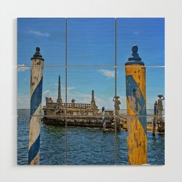Vizcaya Barge Adventures Wood Wall Art