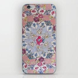 Hand-Sewing Liberty fabrics iPhone Skin