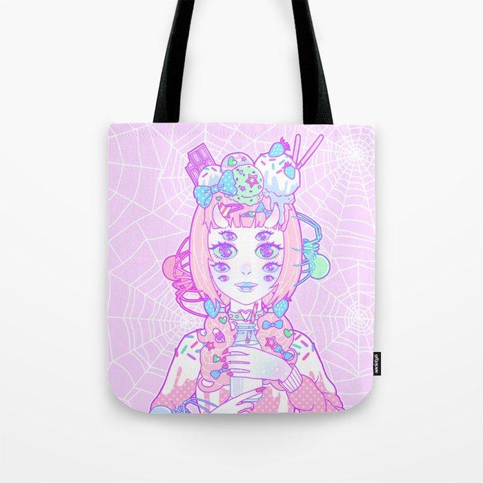 Miss Muffet Tote Bag