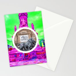 Feminism Mexico Endangered ecopop Stationery Cards