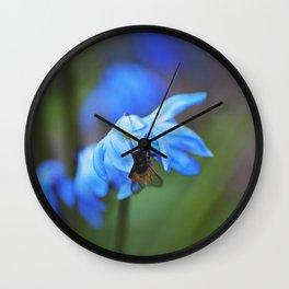 Feasting on Beauty Wall Clock