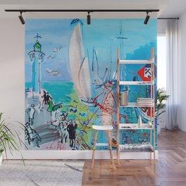 Regatta by Raoul Dufy Wall Mural