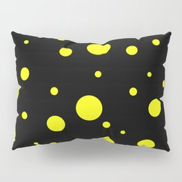 Yellow Bubbles Pillow Sham
