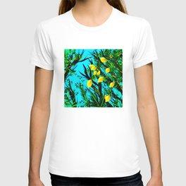 Lemon tree digital illustration T-shirt