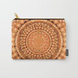 Boho Pumpkin Spice Mandala Carry-All Pouch