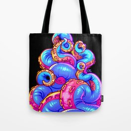 Tentacle Demoness (BLUE version) Tote Bag
