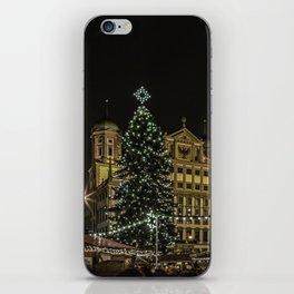 Augsburg Christmas Market iPhone Skin
