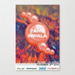 Tame Impala Poster 4 Canvas Print