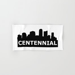 Centennial Skyline Hand & Bath Towel
