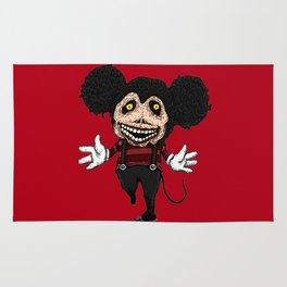 Mickey walking dead. Rug