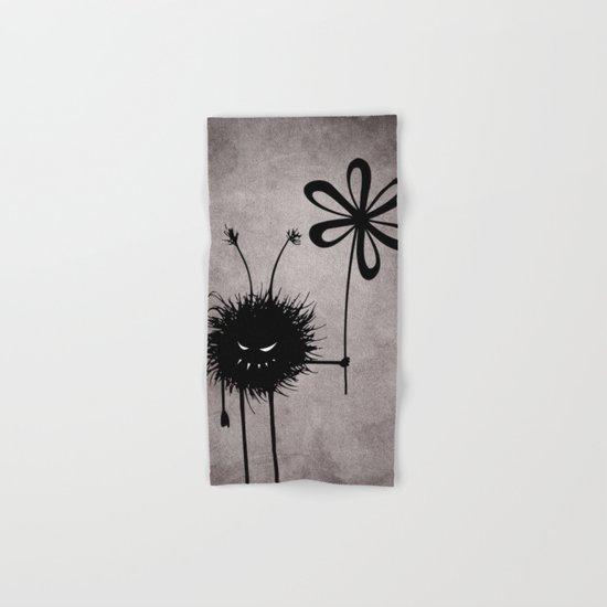 Evil Flower Bug Hand & Bath Towel