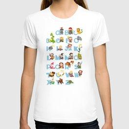 ABC  medieval (english) T-shirt