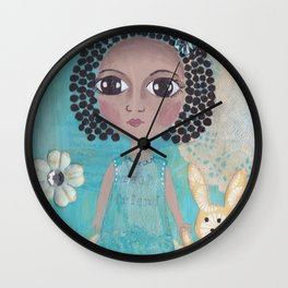 Real friend Wall Clock