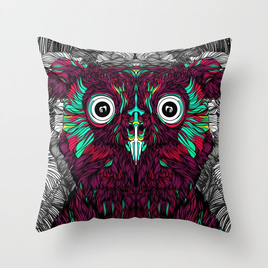 Owl You Need Is Love (Feat. Bryan Gallardo) Throw Pillow
