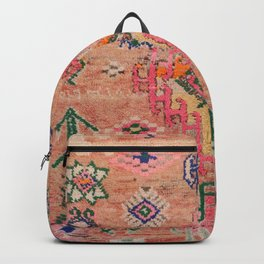 Moroccan Berber Traditional Carpet Backpack