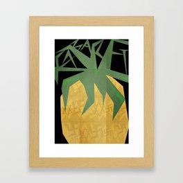 CABARET Minimal Musical  Framed Art Print