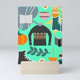 Ready for winter Mini Art Print