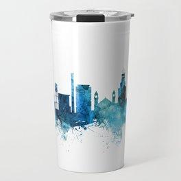 Durham North Carolina Skyline Travel Mug