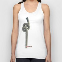 industrial Tank Tops featuring Industrial Brezel by CrismanArt