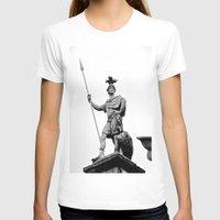 dublin T-shirts featuring Guarding Dublin Castle by Biff Rendar