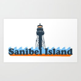 Sanibel Island - Florida. Art Print