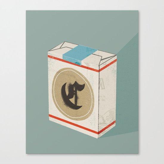 The Letter C Canvas Print