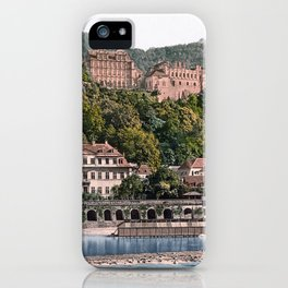 Castle of Heidelberg, seen from the Hirschgasse iPhone Case