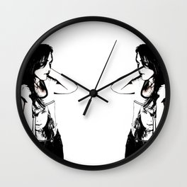 Double Wall Clock