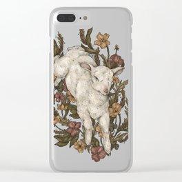 Lamb Clear iPhone Case