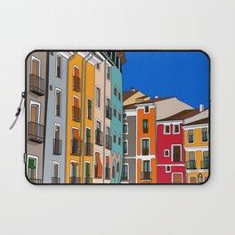 Casas de colores Cuenca. Laptop Sleeve