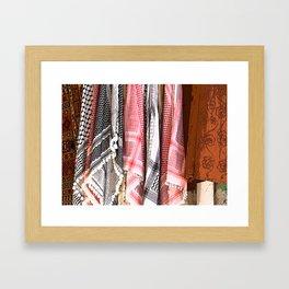 Scarf Framed Art Print