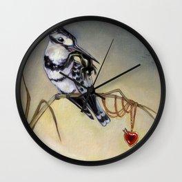 King of Hearts (Bird) Wall Clock