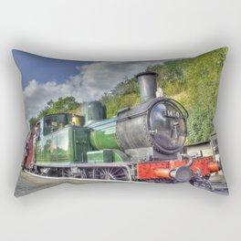 Steam Train at Bewdley Rectangular Pillow