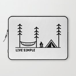 Live Simple Laptop Sleeve