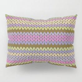 Knitted Pattern Pillow Sham