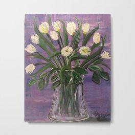 Dutch Tulips in Spring Metal Print