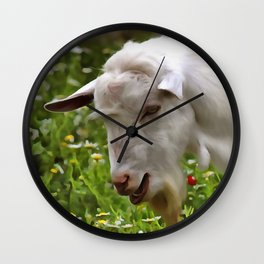 Goat A Load To Talk About Wall Clock