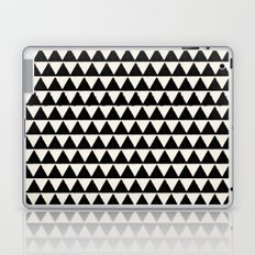 BLACK AND CREAM TRIANGLES Laptop & iPad Skin