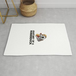 Anatomy Of A Rubberduck Gift Rug