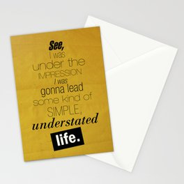 Understated Life Stationery Cards