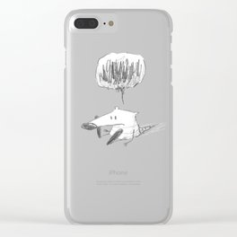Diego is sad Clear iPhone Case