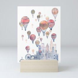 Voyages Over Santa Monica ~ Refresh Mini Art Print