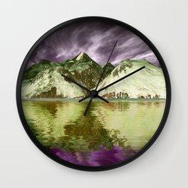 Reflections2 Wall Clock