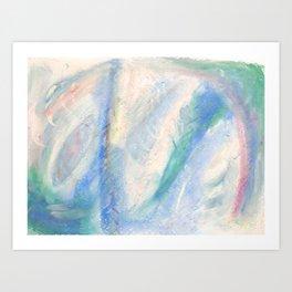 BlueSkyHotSummerDay 2015 Art Print