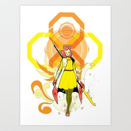 Mod Amaterasu Art Print