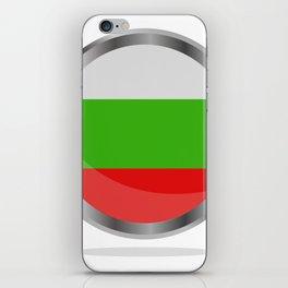 Bulgarian flag iPhone Skin