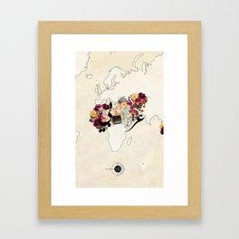 عربي Framed Art Print