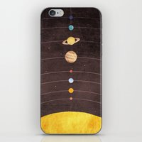 solar system iPhone & iPod Skins featuring Solar System by Annisa Tiara Utami