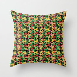 Latino Garden Throw Pillow