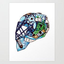 Luongo - Mask Art Print